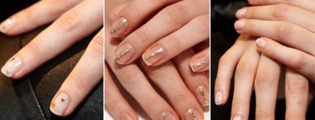 3 new bridal nail ideas from New York fashion week. Do you like? Or hate? We would love to know what you think of them.