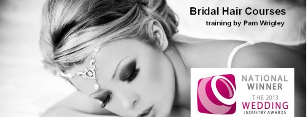 Bridal Hair training course with the amazing Pam Wrigley